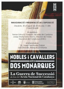 expo nobles i cavallers cartell